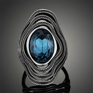 Jewelry - Teal Stone Statement Ring